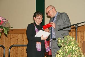 Ehrung zum Ehrenamt des Monats des Landes Brandenburg - Frau Eckert